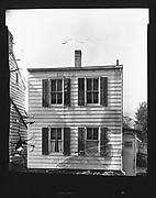 [Clapboard House Façade, Ossining, New York or Charleston, South Carolina]