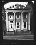 [Greek Revival House with Ionic Columns]