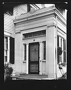 [Side Doorway of Greek Revival House]