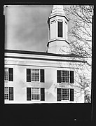 [Side Façade of Greek Revival Church]