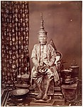 His Majesty Prabat Somdet Pra parameñdr Mahá Mongkut, First King of Siam, in State Costume