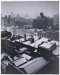 Greenwich Village Rooftops, Evening