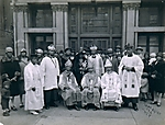 Church Officials in Regalia