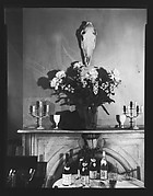 [Fireplace Mantle and Table Settings in Muriel Draper's Drawing Room, New York City]