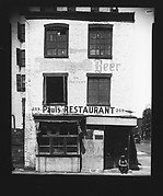 [Brick Building on Waterfront, Paul's Restaurant, New York City]