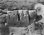 Hebrew University of Jerusalem, Hatzor Excavation. Shore Negative #101