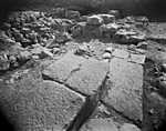 Hebrew University of Jerusalem, Hatzor Excavation. Shore Negative #107