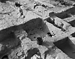 Hebrew University of Jerusalem, Hatzor Excavation. Shore Negative #018