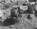 Hebrew University of Jerusalem, Hatzor Excavation. Shore Negative #35