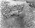 Hebrew University of Jerusalem, Hatzor Excavation. Shore Negative #56