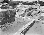 Hebrew University of Jerusalem, Hatzor Excavation. Shore Negative #84