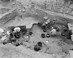 Hebrew University of Jerusalem, Hatzor Excavation. Shore Negative #123
