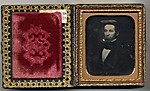 [Portraits of a Man and a Woman in Double-Sided Case]