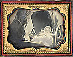 [Woman with Child in Carriage]