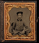 "[Private Thomas Gaston Wood, Drummer, Company H, ""Walton Infantry,"" Eleventh Regiment Georgia Volunteer Infantry]"