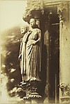 [Large Figures on the North Porch, Chartres Cathedral]