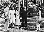 [Heinz Riefenstahl, Dr. Ebersberg, Leni Riefenstahl, Adolf Hitler, and  Ilse Riefenstahl (Wife of Heinz) Visiting Leni Riefenstahl&amp;#39;s New Villa in Dahlem, Berlin]