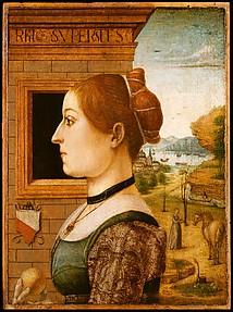Portrait of a Woman, possibly Ginevra d'Antonio Lupari Gozzadini