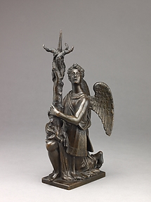 Candlestick in the Form of a Kneeling Angel