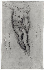 Study for the Figure of Christ in a Deposition