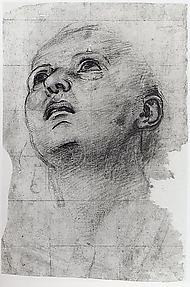 Study of the Head of a Youth Gazing Upward