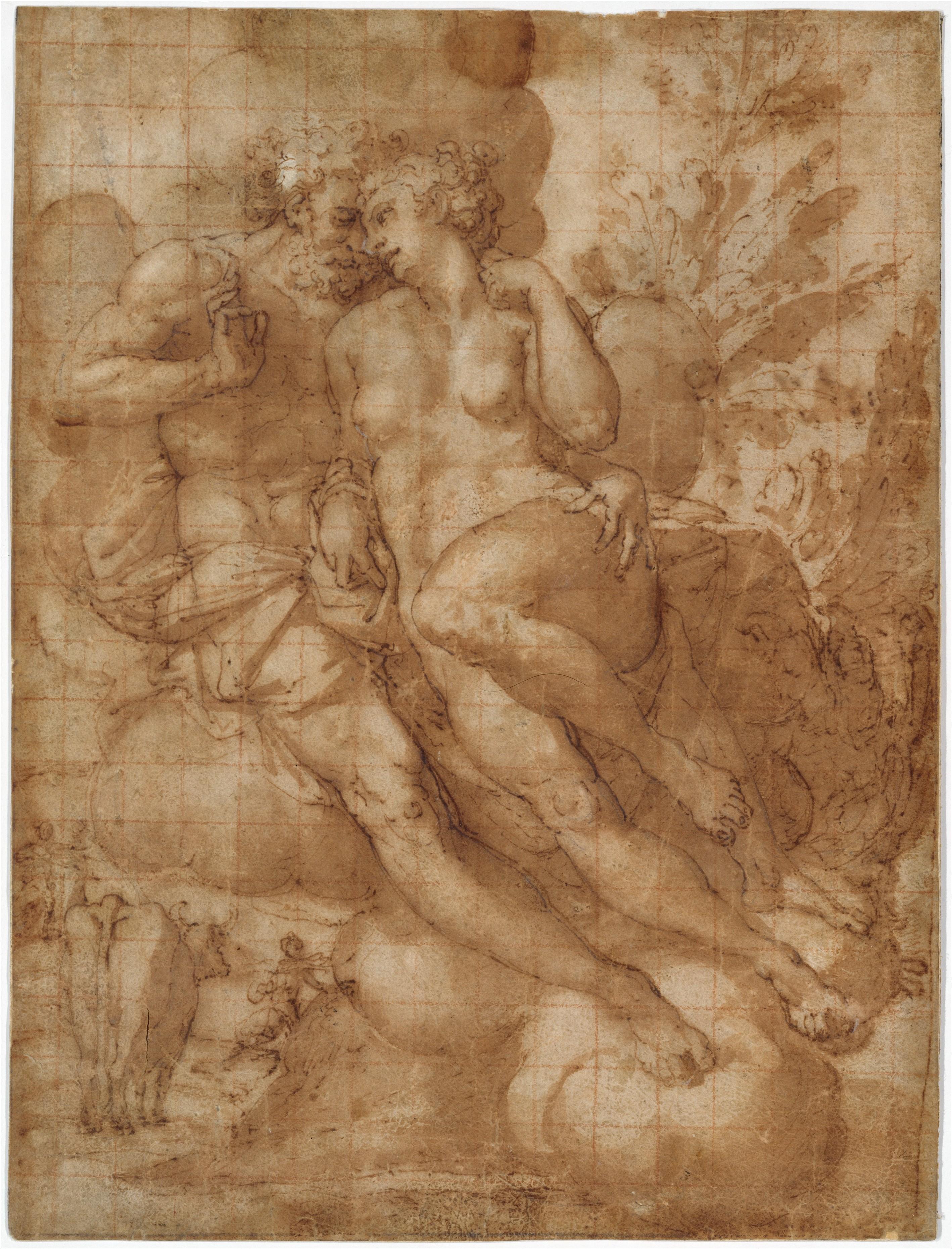 Francesco Salviati Drawings Attributed to Francesco