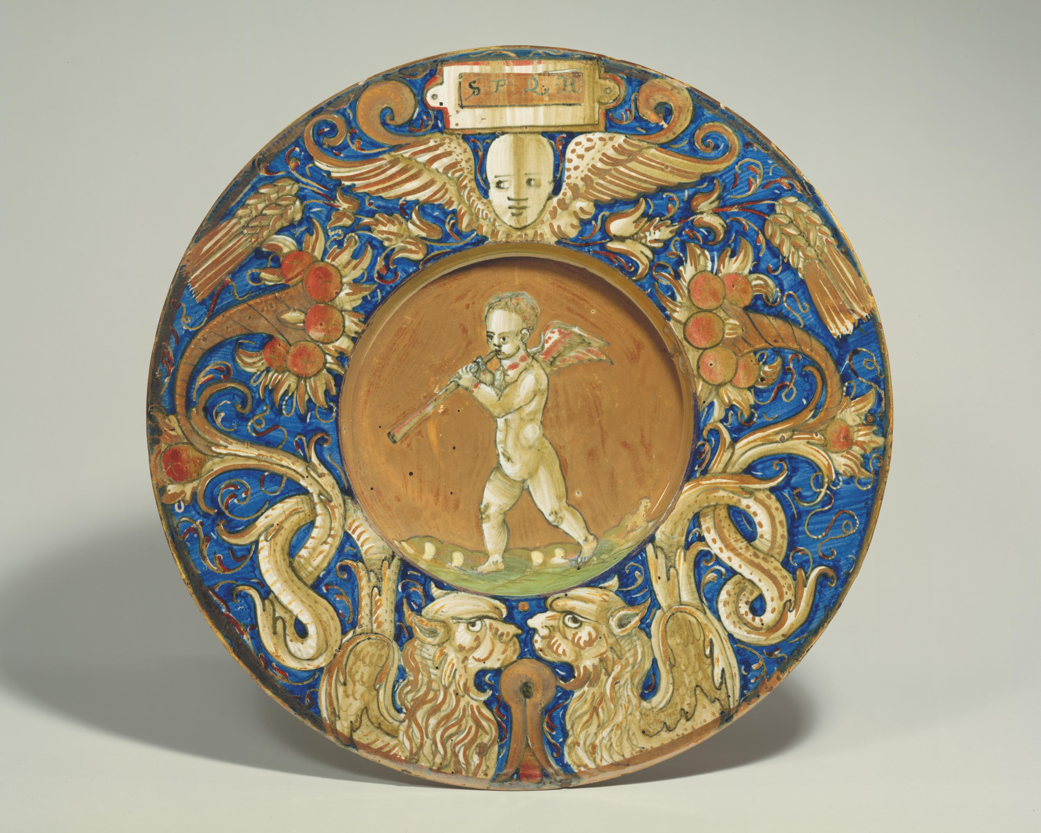Тарелка, майолика, Эпоха Возрождения, Италия
