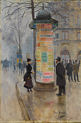 Parisian Street Scene