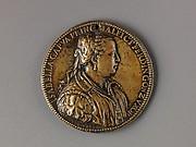 Medal:  Isabella di Capua