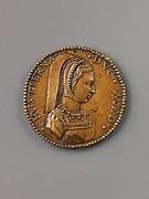 Medal:  Bust of Christine of Denmark