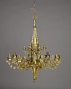 Chandelier with tabernacle (Kapellenkrone)