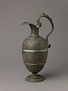 Ewer with figures of faith, hope, and charity (see also Basin, 1975.1.1472)
