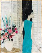 Woman with a Bouquet (Femme au bouquet)