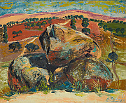 Landscape with Rocks
