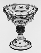Footed vessel (saltcellar?)
