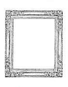Corner-flower frame