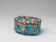 Jeweled Snuffbox