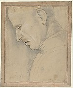 Head of a Man in Profile