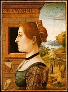 Portrait of a Woman, possibly Ginevra d'Antonio Lupari Gozzadini