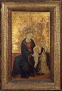 Madonna and Child with Saint Catherine of Siena and a Carthusian Donor
