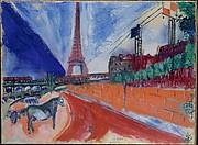 Le Pont de Passy et la Tour Eiffel