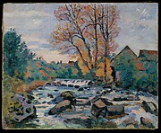 The Bouchardon Mill, Crozant