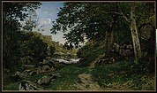 The Rocky Path in the Morvan (Chemin des roches dans le Morvan)