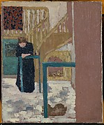 Mme Vuillard in a Set Designer&#39;s Studio