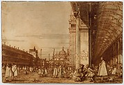 Piazza San Marco from the Southwest Corner, with the Procuratie Nuove on the Right