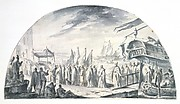 The Arrival in Venice, from Alexandria, of the Relics of Saint John the Alsgiver in 1247