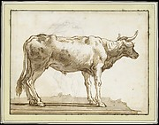 A Bullock Standing to the Right (on a Base)