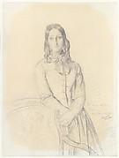 Portrait of Madame Gabrielle Marcotte de Quivières