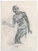 Study of a Male Nude Study for