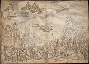 The Triumphal Entry of Frederik Hendrik of the Orange into The Hague